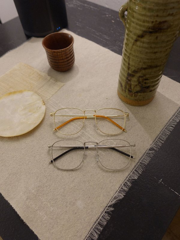 RETRO HITCH GLASSES (SILVER, GOLD 2COLORS!)