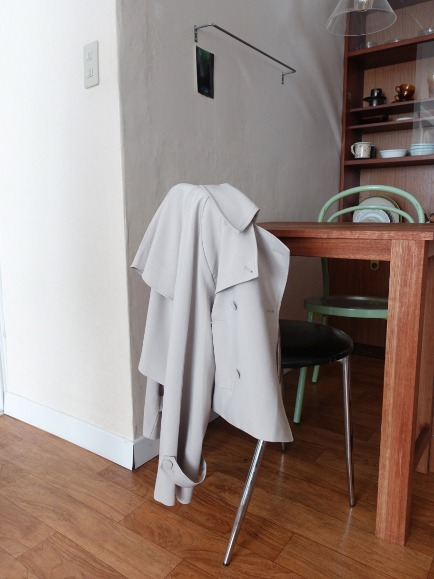 WINGS SHORT TRENCH JACKET (IVORY, KHAKI GRAY 2COLORS!)