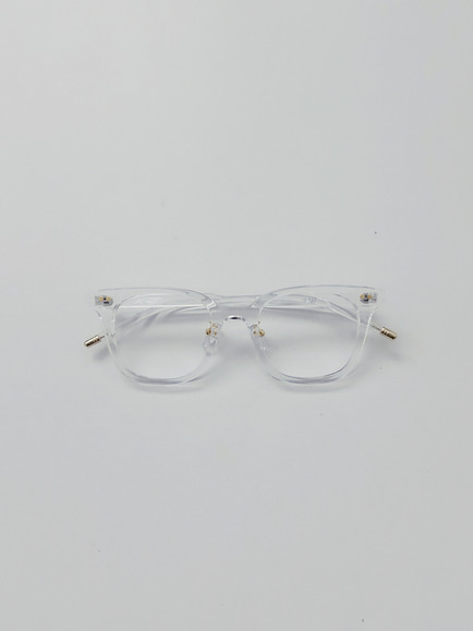 CLEAR SQUARE FRAME GLASSES