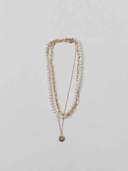 PEARL CHAIN NECKLACE SET